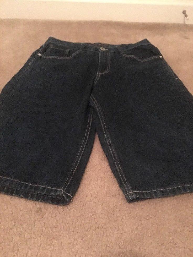 South Pole Men's Blue Denim Jean Shorts Sz 34 Clothes #Southpole #Denim