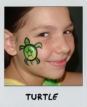 "Because I love turtles! Would be cute with a little trail of tiny turtles behind the ""mama""."