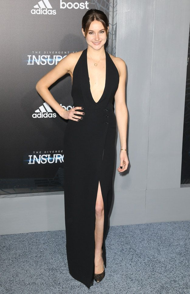 Shailene Woodley At The 'Insurgent' Premiere In NYC