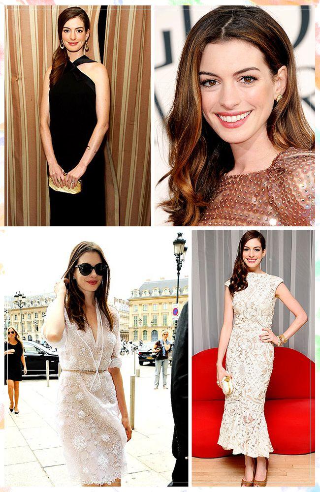 Classic beauty: Anne Hathaway / Ruche Blog