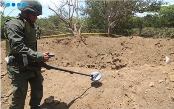 Suposto meteorito explode e deixa cratera de 12 metros em Manágua - OVNI Hoje!