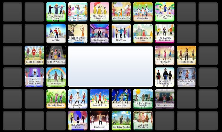 30+ Just Dance Videos for kids. Amazing for indoor recess or transitions