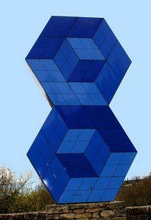 Victor Vasarely Skulptur