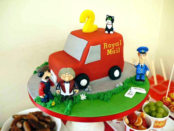Postman Pat Party Dessert Table