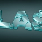 Create 3D Glass Shattered Text effect Using Adobe Illustrator and Photoshop