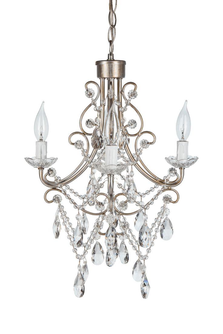 Madeleine Antique Crystal Plug In Chandelier 4 Lights