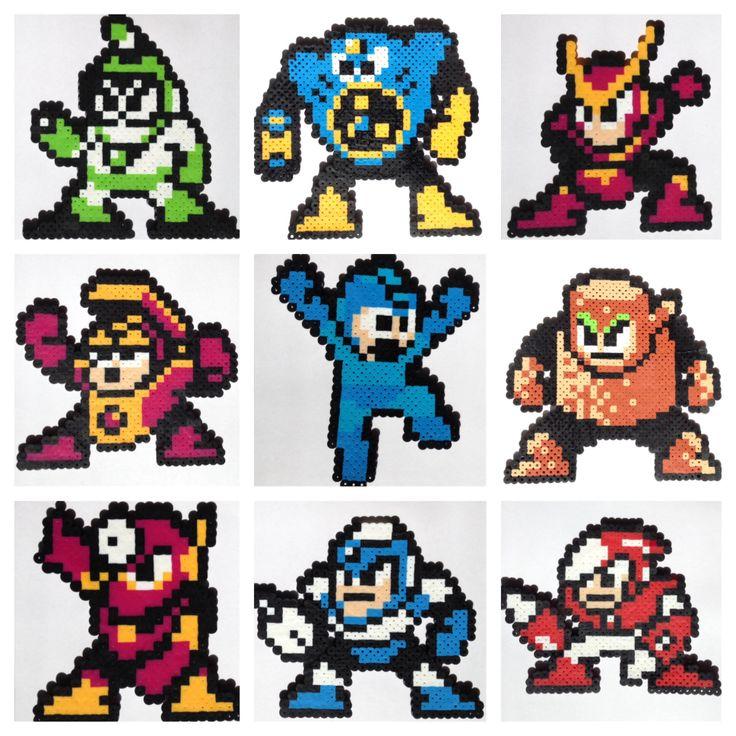 Mega man and Sprites on Pinterest