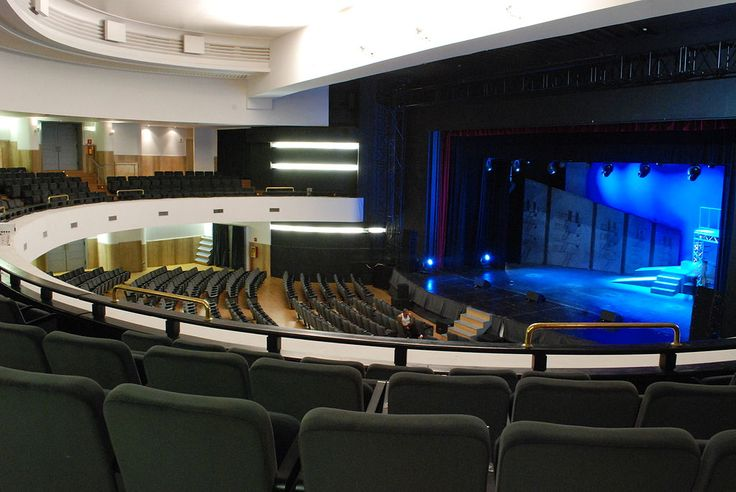 Sala del Teatro Olimpico - Teatro Olimpico (Roma) - Wikipedia