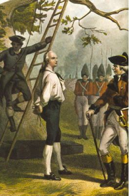 Nathan Hale is known as the first American spy.