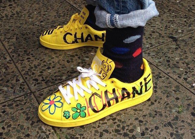be2709b81 Adidas Stan Smith Pharrell Williams Yellow herbusinessuk.co.uk