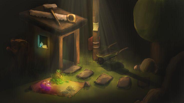 Clash of Clans - Builder's Hut by Nocturno-Anular on DeviantArt