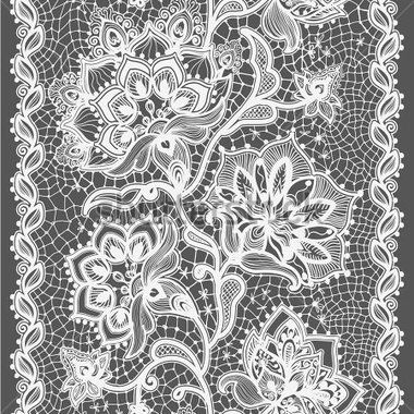 抽象花邊絲帶垂直無縫模式。卡範本框架設計。蕾絲花邊。可用於包裝、 邀請和範本。 付費矢量圖 - Clipart.me