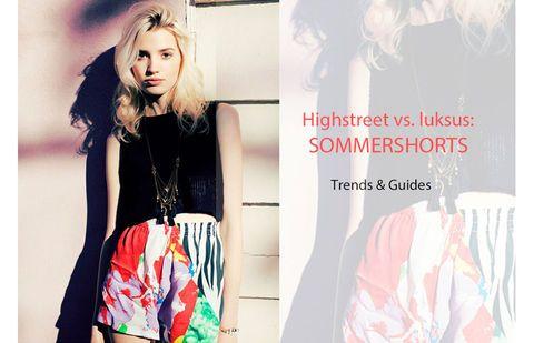 Highstreet vs. luksus: Sommershorts | Stylista.dk