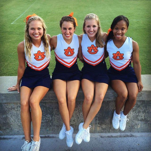 Auburn Tigers Cheerleaders Hottest Photos Of The Squad -3914