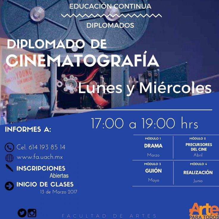 Facultad de Artes de la UACH impartirá Diplomado en Cine