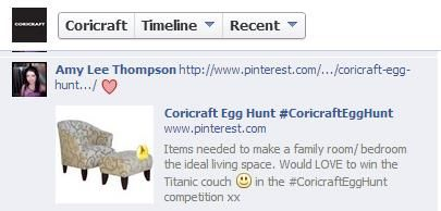 #CoricraftEggHunt xx Most awesome #Easter competition #win