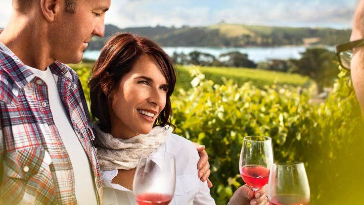 Wineries in Auckland Auckland is encircled by four wine regions – Matakana, Kumeu, Clevedon Hills and Waiheke Island – so a visit to some of Auckland's wineries is a must. Enjoy wine tastings, delicious food and gorgeous scenery. Hop on a tour or enjoy at your own pace.