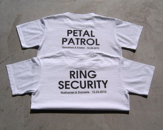 PETAL PATROL Personalized Flower Girl Wedding by TheKnottedPalm, $16.95 -- for the rehearsal dinner!!