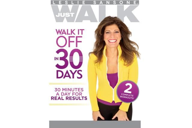 Use these Indoor Walking Videos to Walk Off the Pounds at Home: Leslie Sansone Walk it Off in 30 Days