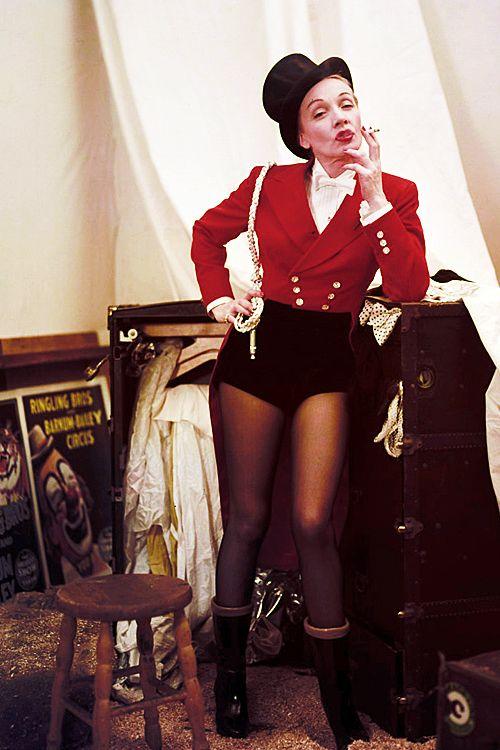 Marlene Dietrich photographed by Milton Greene, 1953