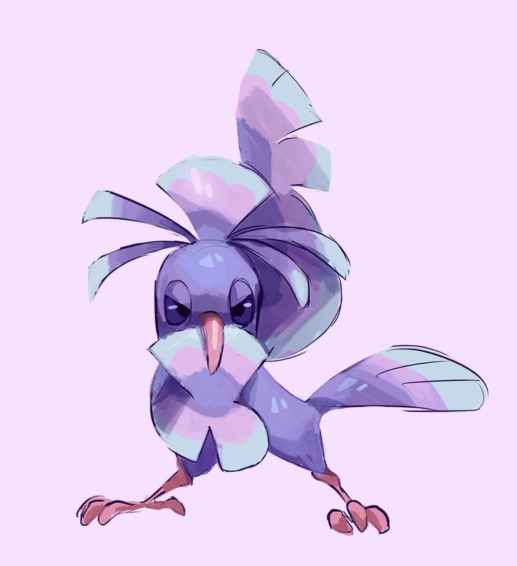 Oricorio, Sensu Style! New Pokemon from the Alola region