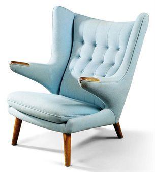 'Papa Bear' Chair by Hans Wegner, 1951via christies #Chair #Papa_Bear #Hans_Wegner