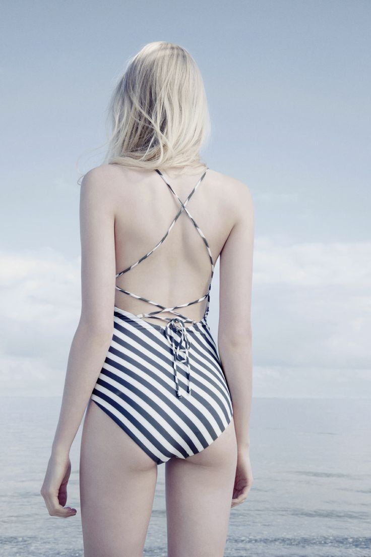Swimsuit from Ganni 2014 high summer/ pre fall collection