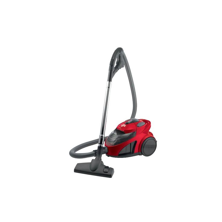 Dirt Devil EZ Lite Bagless Canister Vacuum, SD40010, Red