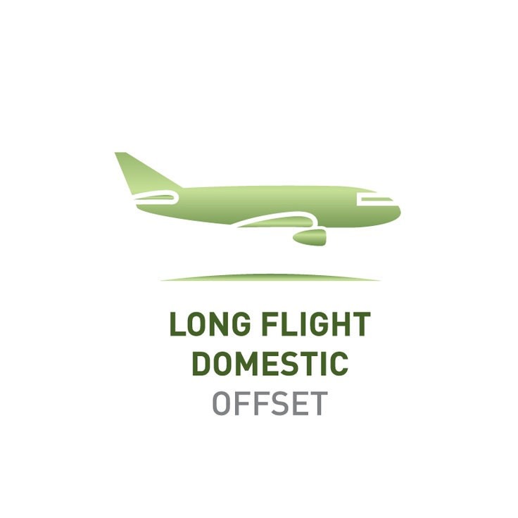 Offset the emissions of a short domestic flight    Greenfleet will plant enough native trees to capture 0.8 tonnes CO2-e, the average emissions produced by one short domestic flight in Australia.    Visit http://www.greenfleet.com.au/PurchaseOffset/tabid/132/CatID/2/Individual.aspx