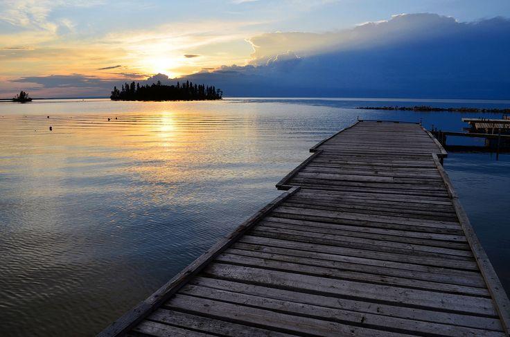 View from Deschambault Lake Saskatchewan
