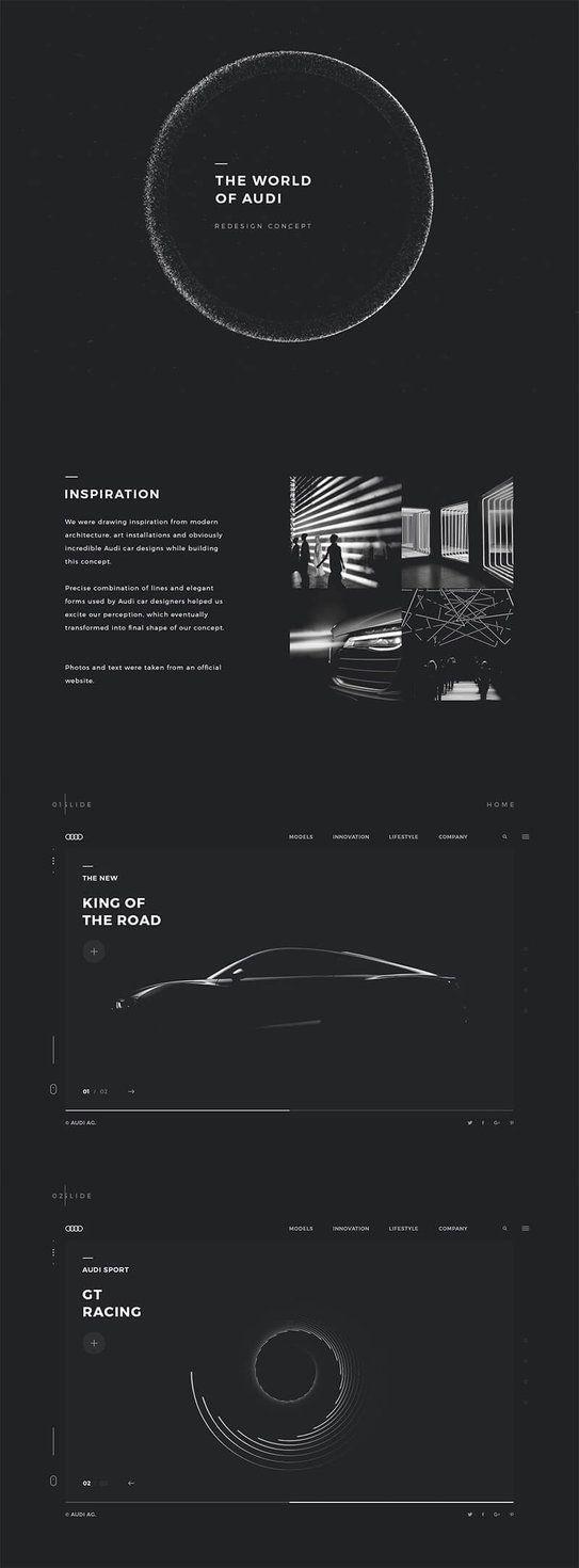Audi2 #ui #ux#userexperience #website #webdesign #design