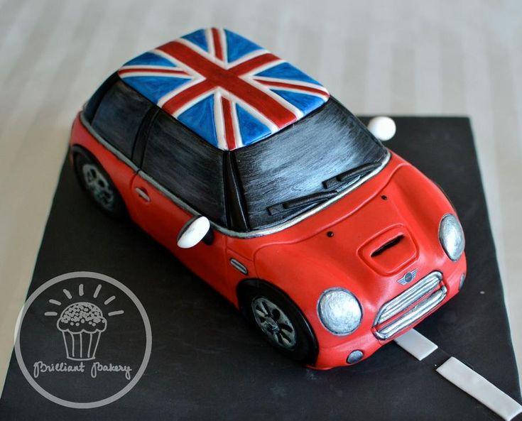 Mini Cooper Cake Images 2