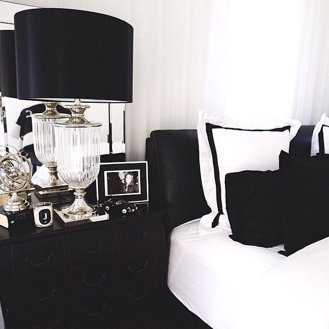 Bedroom Ideas In Black And White
