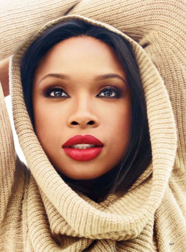 Jennifer Hudson looking flawless as usual This make up is totally appropriate for the 30's. Elegant and sexy.