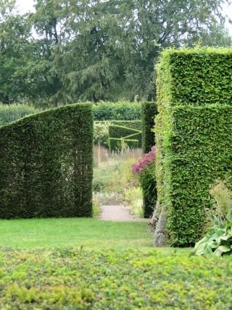 A great use of hedges to frame the entrance to the garden of Anja and Piet Oudolf, Hummelo Netherlands.  Photo by Adam Woodruff