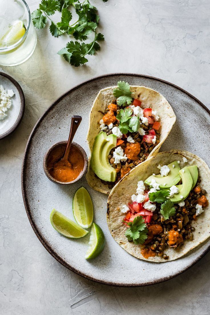 A handful of surprising yet simple ingredients lend big flavor to these meatless smoky lentil tacos, adapted from Naturally Nourished by Sarah Britton.