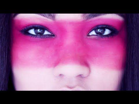 Costume makeup- Native american warrior - YouTube