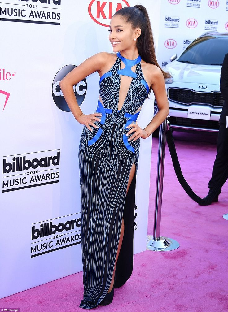 2016 BILLBOARD Music Awards. ARIANA GRANDE Strike a pose! The singer is up for Top Female Artist among other awards...