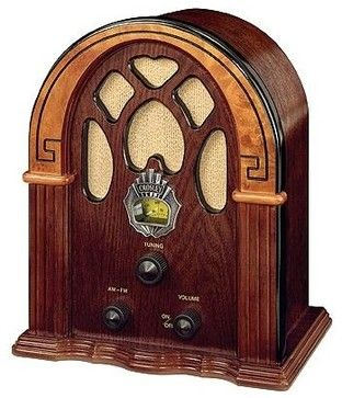 1930's Companion Radio in Walnut - Eclectic - Home Electronics - by ivgStores