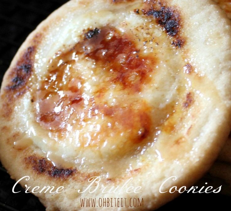 Creme Brulee Cookies Sweet Treats Pinterest Cream