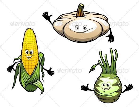 Cartoon Vegetables  #GraphicRiver         Pumpkin, corn and turnip cartoon vegetables isolated on white background. Editable EPS8 and JPEG (can edit in any vector and graphic editor) files are included     Created: 29October13 GraphicsFilesIncluded: JPGImage #VectorEPS Layered: No MinimumAdobeCSVersion: CS Tags: cartoon #character #cheerful #corn #design #drawing #face #food #fresh #fun #funny #happy #health #healthy #icon #illustration #isolated #mascot #nutrition #plant #pumpkin #salad…