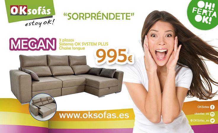 Estan de vuelta las #oferta del mes OK Sofás ! Aprovecha la oferta del mes para estar OK! Quieres estar cómodo este verano? no lo pienses más!  #Ofertas2017 #Relax #Descanso #estoyOk http://www.oksofas.es/oferta-del-mes/