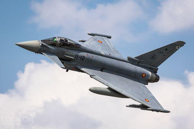 https://flic.kr/p/WtXSj9 | Spanish Air Force Eurofighter EF2000 Typhoon | Florennes, Belgium