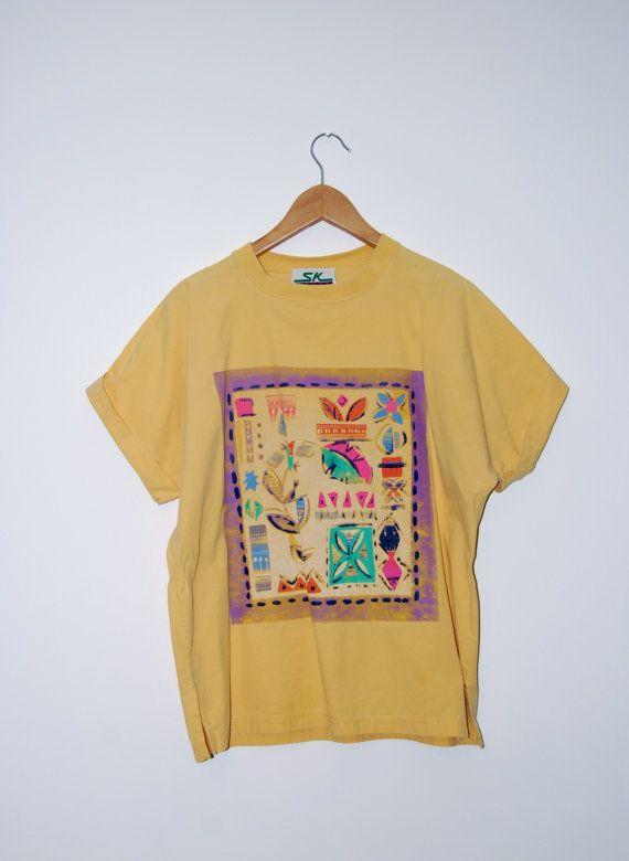 Vintage SK Sport Oversized Tshirt