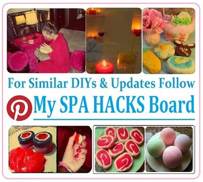 * Maria's Self *: My Spa DIYs, Click on Images for Recipes