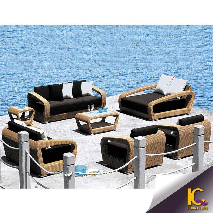 Top China 5 Seater American Style Luxury Rattan Used Outdoor Sofa   Buy  Rattan Used Outdoor. Outdoor Lounge FurnitureOutdoor SofasGarden ...