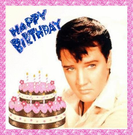 Sexy Happy Birthday Images | Uploaded by sexy elvis in category Glitter Graphics
