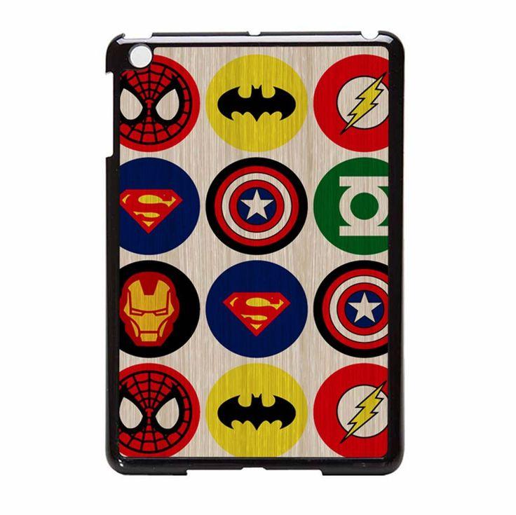 Superhero Logos 2 iPad Mini Case