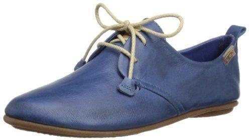 Oferta: 90.74€ Dto: -28%. Comprar Ofertas de Pikolinos Calabria 7123 - Zapatos de cordones de cuero para mujer, Azul, 37 EU (4 UK) barato. ¡Mira las ofertas!