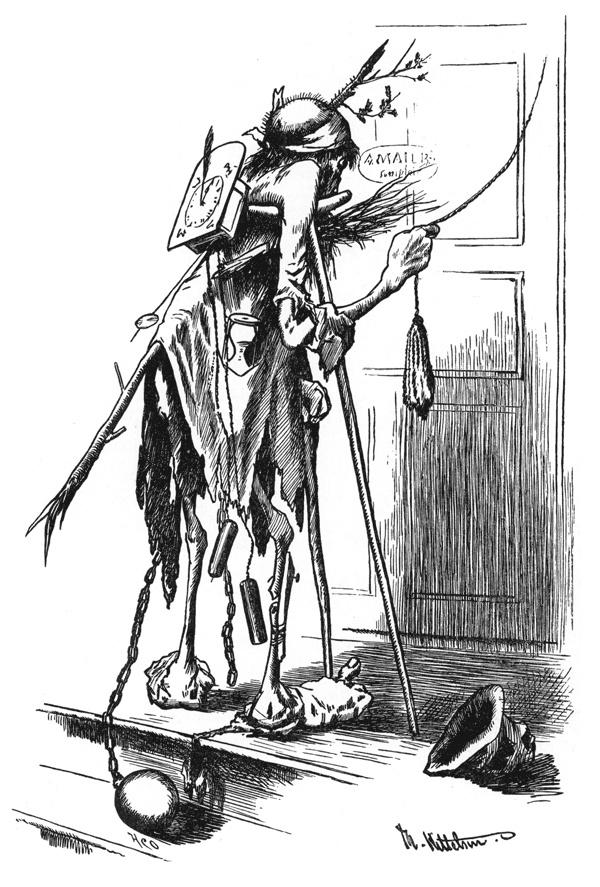 'Du slette tid!' by Theodor Kittelsen